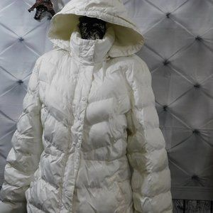 Womens Puffy Jacket with Hood